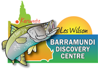 Karumba Barra Centre and Hatchery Logo